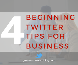 4 beginning twitter tips for business